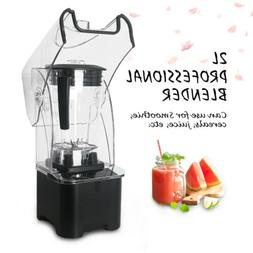 2200W Commercial Powerful Smoothie Blender Mixer 2L Pulse Fe