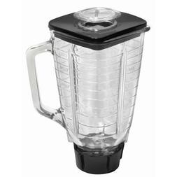 Ronnel Collection 6-Piece Square Glass Blender Jar Replaceme