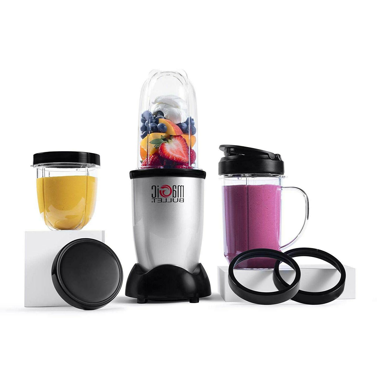 blender small silver 11 piece set free