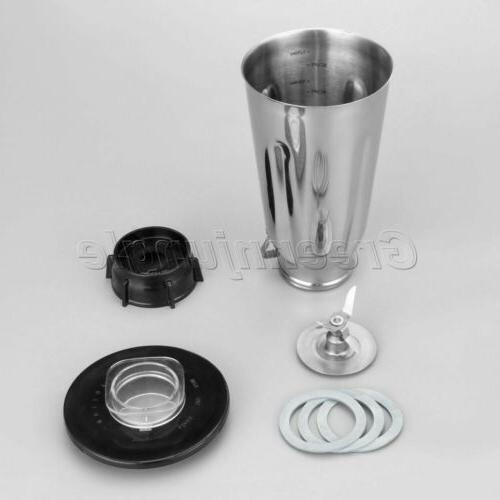 Durable Stainless Steel Lid Set For Oster Blenders