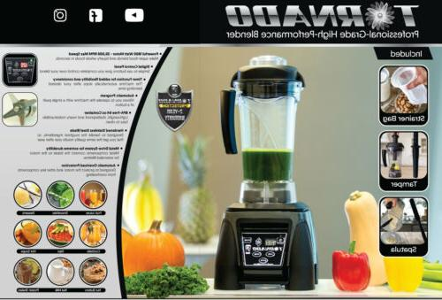 tornado professional blender commercial vitamix alternative