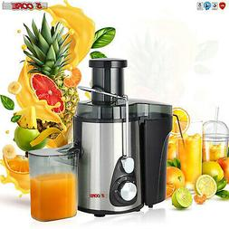 NEW 2021 Electric Juicer Wide Mouth Fruit Centrifugal Juice