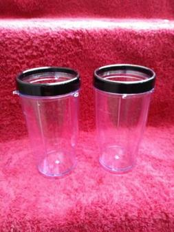 KitchenSmith by BELLA Personal Blender PARTS 2 NEW Tall 13.5