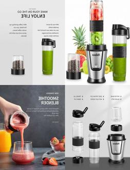 Personal Blender with 2 x 20oz Travel Bottle and Coffee/Spic