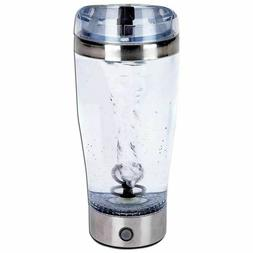 Portable Drink Mixer 18oz Tornado Mug Cup Battery Shake Prot