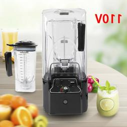 2200W Commercial Grade Automatic Timer Blender Mixer Soundpr