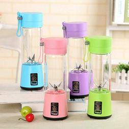 USB Rechargeable portable Blender Juicer Cup fruit Mixing Ma